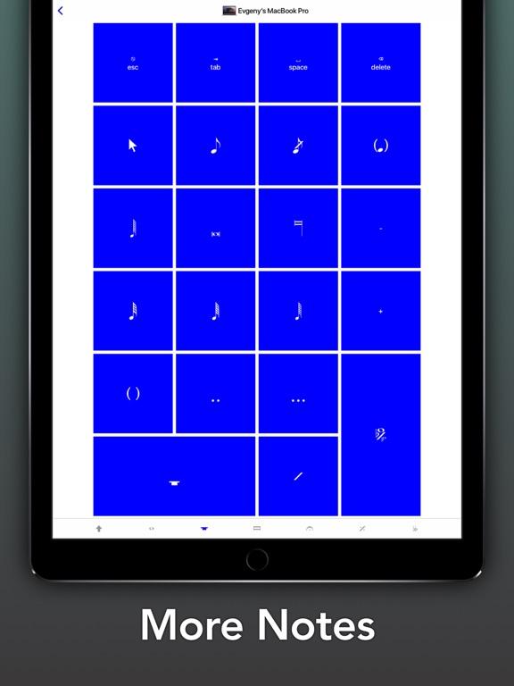 Screenshot #5 pour Sibelius KeyPad for Mac
