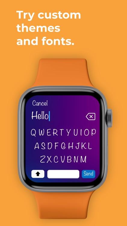 Type: Keyboard for Apple Watch screenshot-4