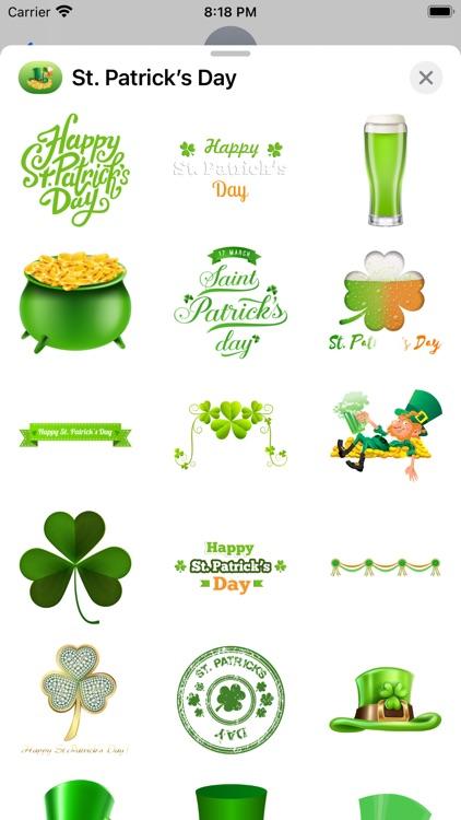 St. Patrick's Day Stickers screenshot-4