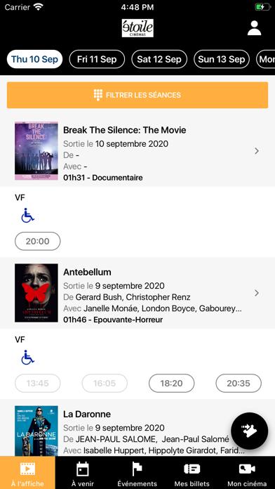 Béthune Etoile Cinémas screenshot 2