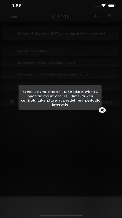 PRINCE2 Foundation Exam screenshot 4