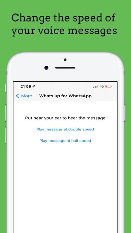 Whats up for WhatsApp screenshot-4