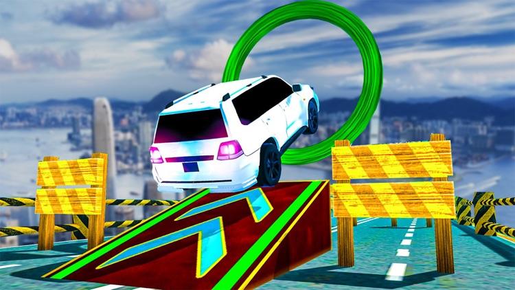 Prado Car Stunts Mega Ramp SUV screenshot-8