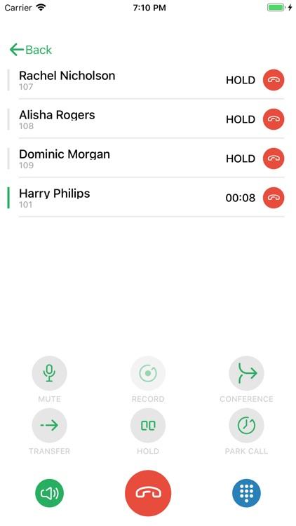 Zultys MX Mobile screenshot-4