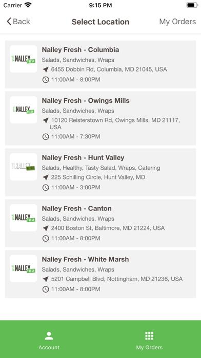 Nalley Fresh AppScreenshot of 2