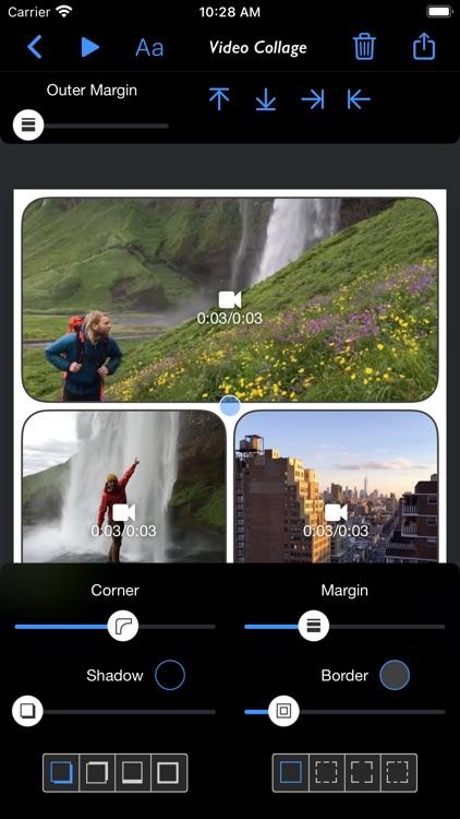 Video Collage - Stitch Videos screenshot-3