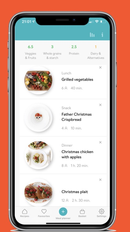 Mary's Recipes: Meal Planner