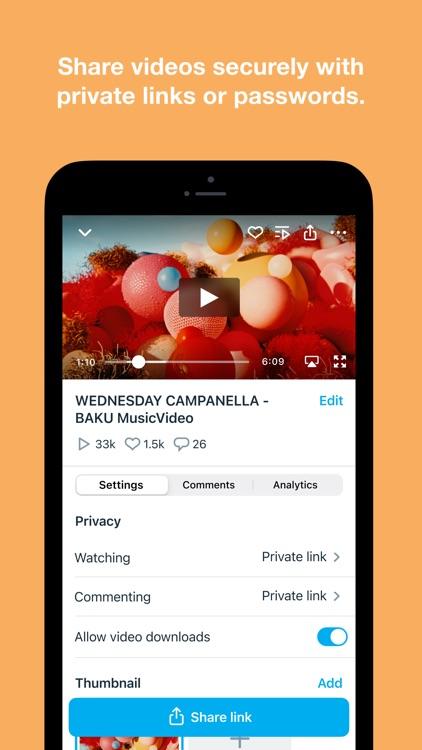 Vimeo - Ad-Free Video Player screenshot-5