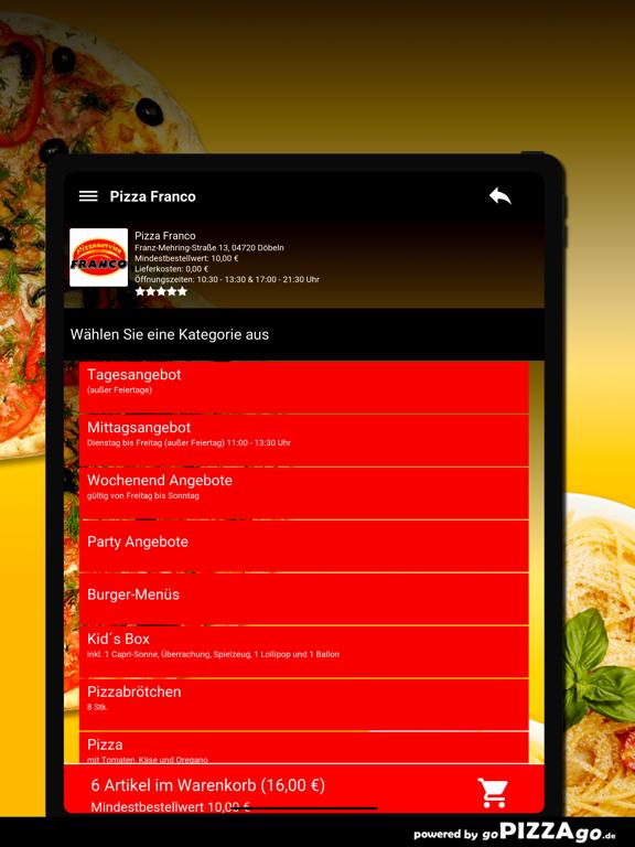 Pizza Franco Döbeln screenshot 8
