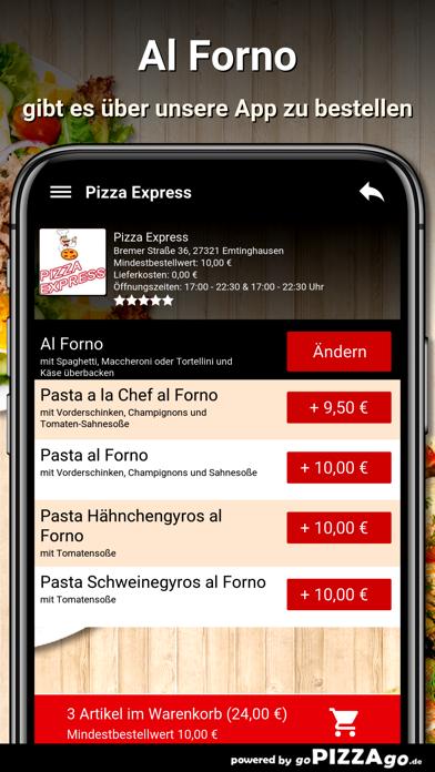 Pizza Express Emtinghausen screenshot 6