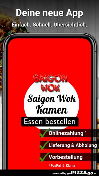 Saigon Wok Kamen screenshot 1