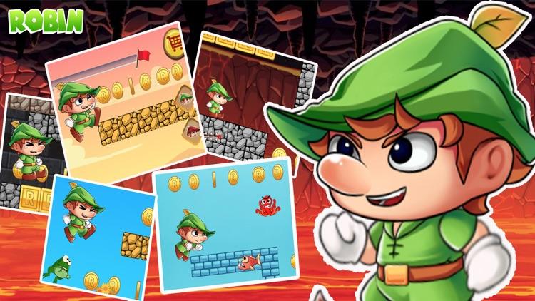罗宾汉的森林世界-最佳经典平台游戏