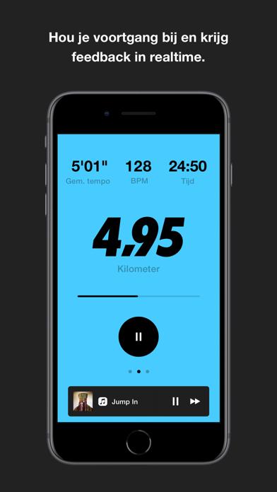 Nike Run Club iPhone app afbeelding 1