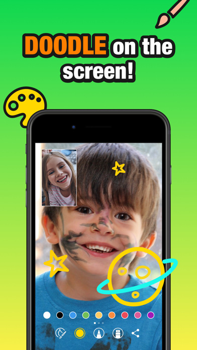 JusTalk Kids - 安全なビデオチャットのおすすめ画像6