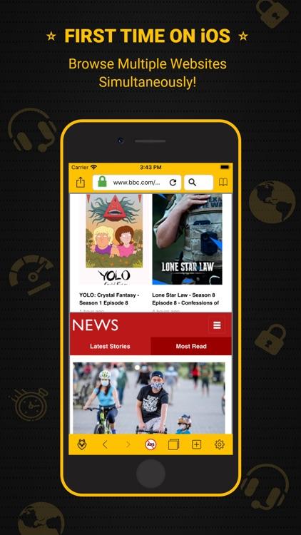 VPN Owl-Private Fast Proxy Hub screenshot-5