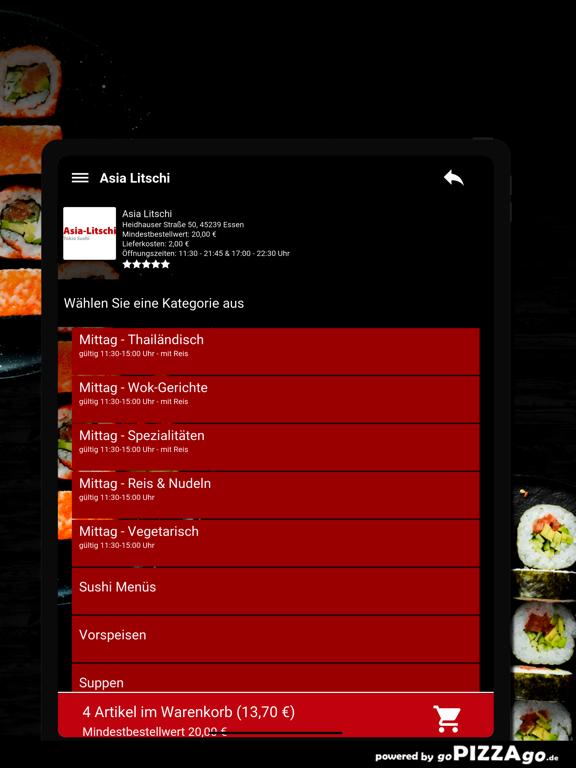 Asia Litschi Essen screenshot 8
