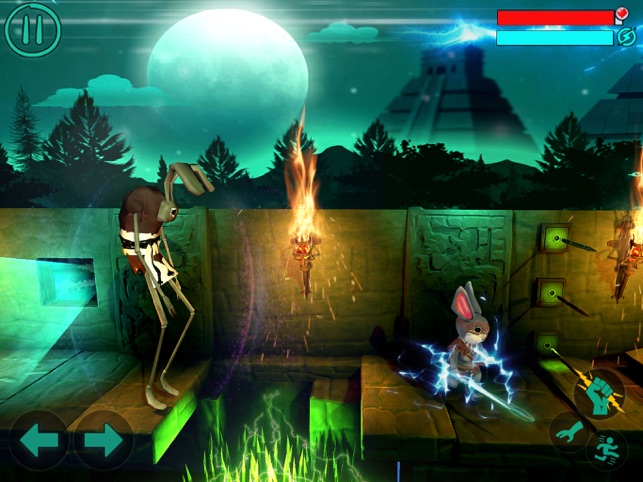 Big Bang Ninja Rabbit Summoner, game for IOS