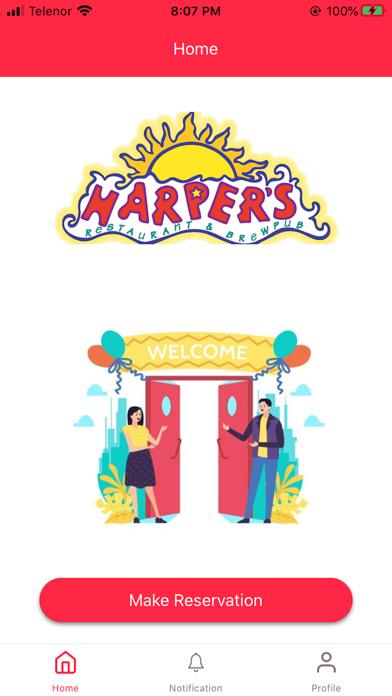 Harper's Screenshot
