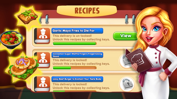 Cooking Town: Chef Food Games screenshot-4