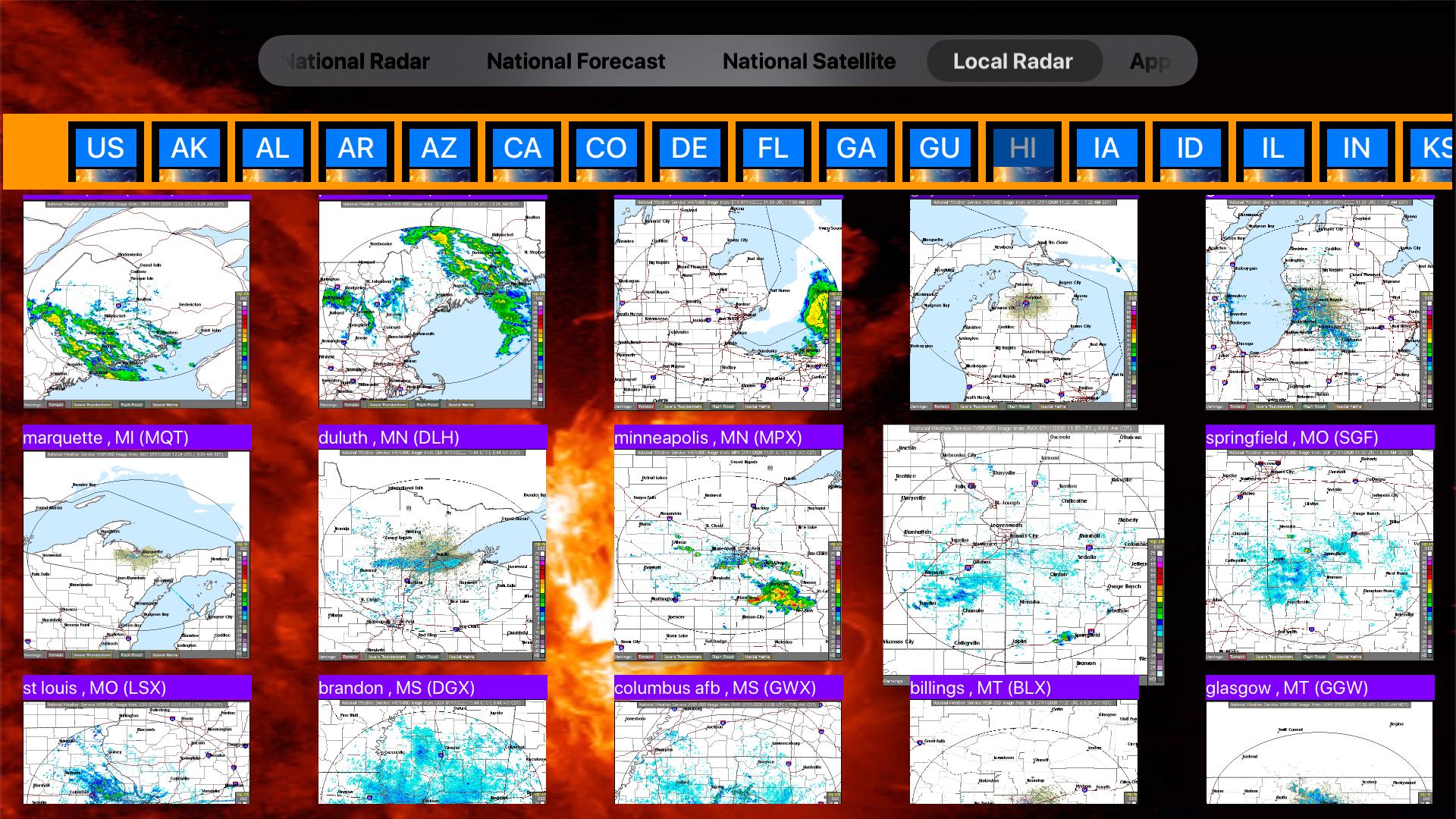 US NOAA Radars 3D Pro screenshot 23