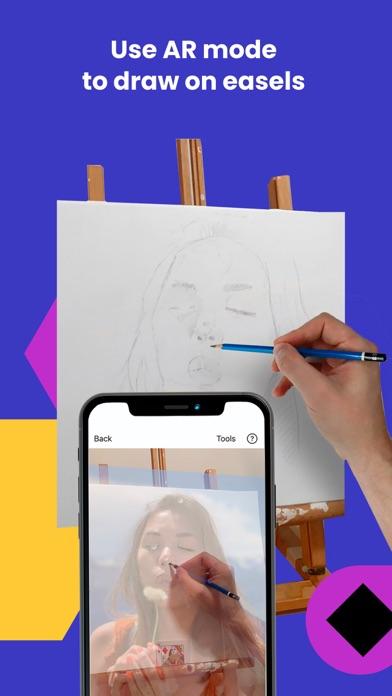 Da Vinci Eye: AR Art Projector Screenshot