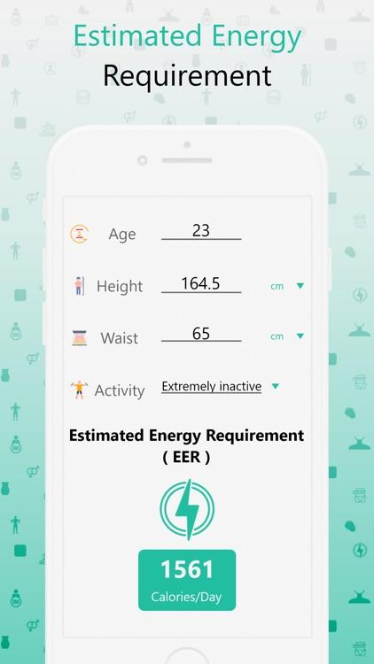 BMI, BMR & Body Fat Calculator screenshot-6