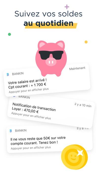 Bankin' : Budget et comptes