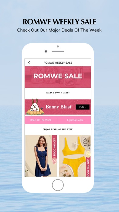 ROMWE - Fashion Store Screenshot