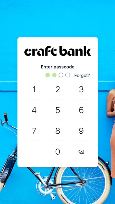 Craft Mobile Banking Screenshot