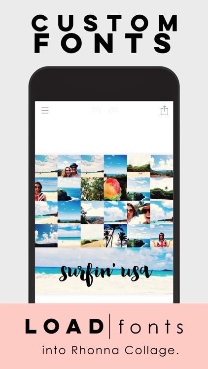 Rhonna Collage screenshot-4