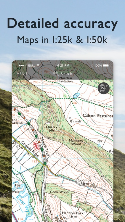 OS Maps: Walking & bike trails screenshot-4