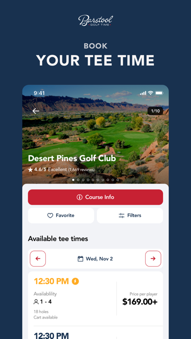 Screen Shot Barstool Golf Time 0