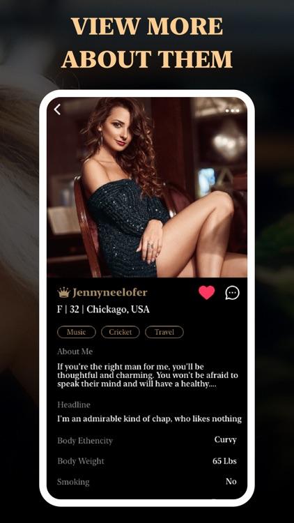 The Upscale -Dating League App screenshot-3