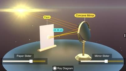 Concave mirror properties screenshot 4