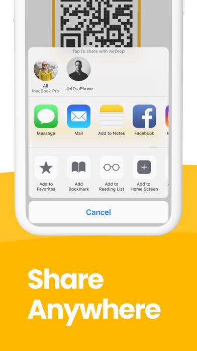 QR Code Reader: QR Scanner screenshot 7