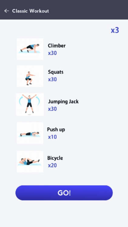 Home Workout bodyweight