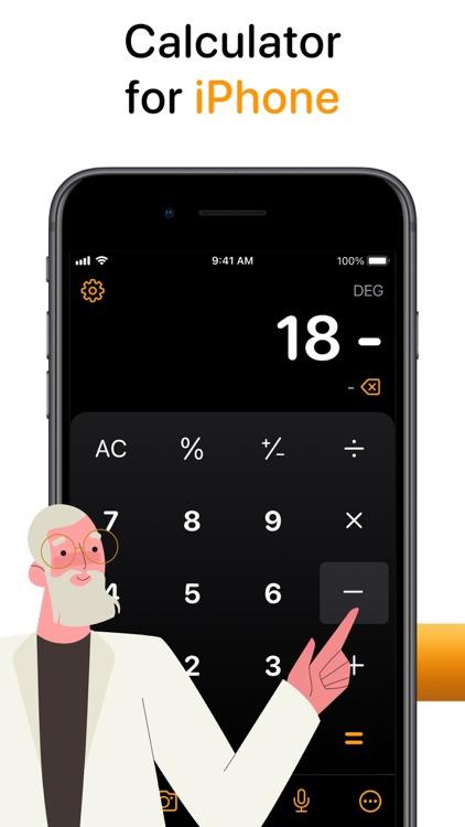 Calculator Air - Math Calc screenshot-6