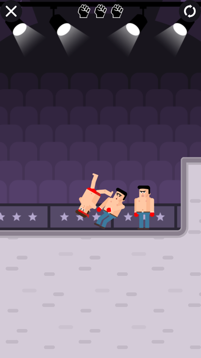 Mr Fight - Wrestling Puzzles screenshot 1