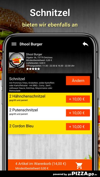Dhool Burger Deizisau screenshot 6