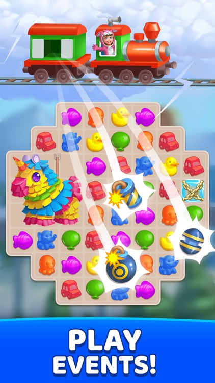 FUNTOWN Match 3 ThemePark Game screenshot-4