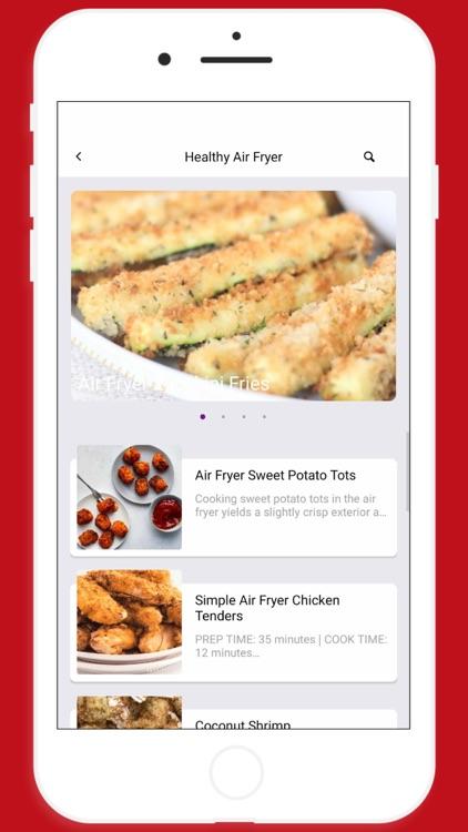 Healthy Air Fryer Recipes App