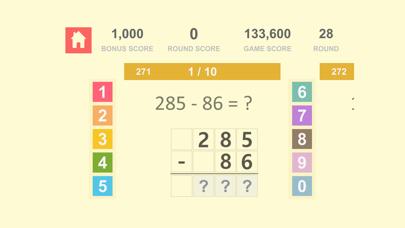 数学の基礎 Math Quiz - 自然数 加算、減算 3紹介画像8