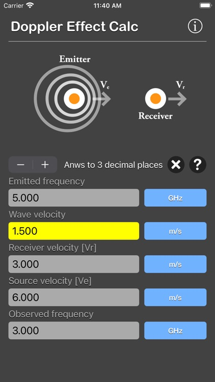 Doppler Effect Calculator screenshot-8