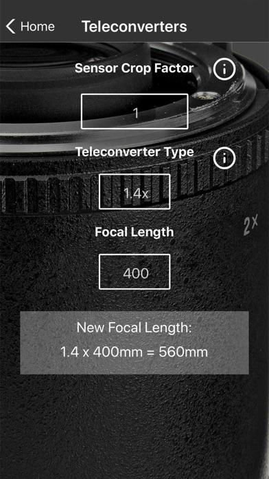 PhotoCalc Screenshots