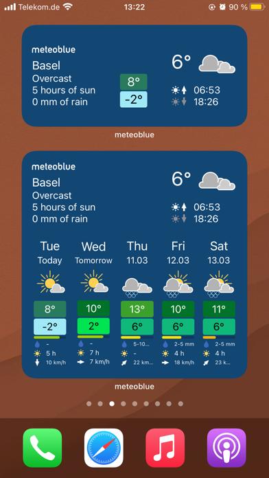meteoblue weather & mapsのおすすめ画像8
