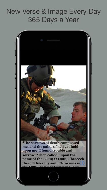 Navy Psalm Daily Quotes KJV screenshot-3