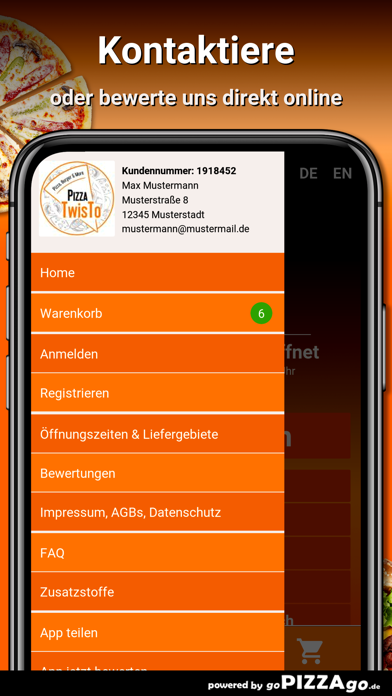 Pizza TwisTo Reutlingen screenshot 3