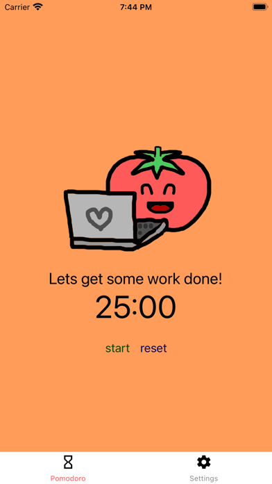 Productive Pomodoroلقطة شاشة1