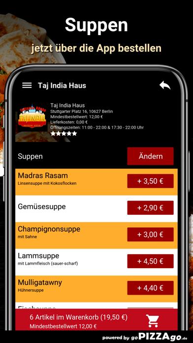 Taj India Haus Berlin screenshot 5
