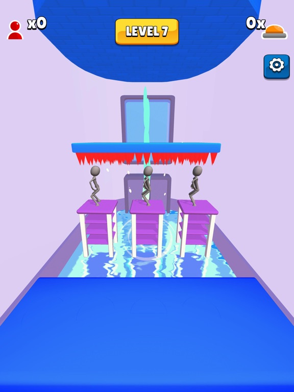 iPad Image of Trap Room!